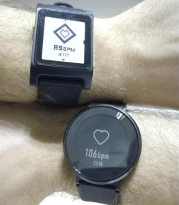 Huawei Fitt vs Pebble 2